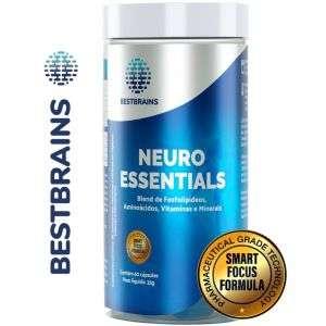Neuroessentials - Suplemento natural para foco, concentração e memória