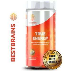 True ENERGY 60 Cápsulas - Suplemento natural para maior energia, disposição e ativação cerebral