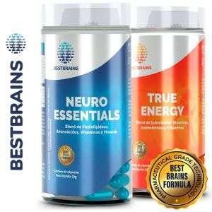 Potencialização cerebral com energia turbinada. Maior foco e concentração com mais energia e disposição